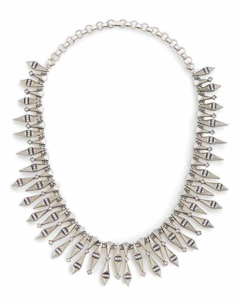 Kendra Scott Kendra Scott Cici Necklace in Antique Silver