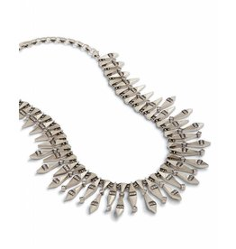 Kendra Scott Cici Statement Necklace in Antique Silver