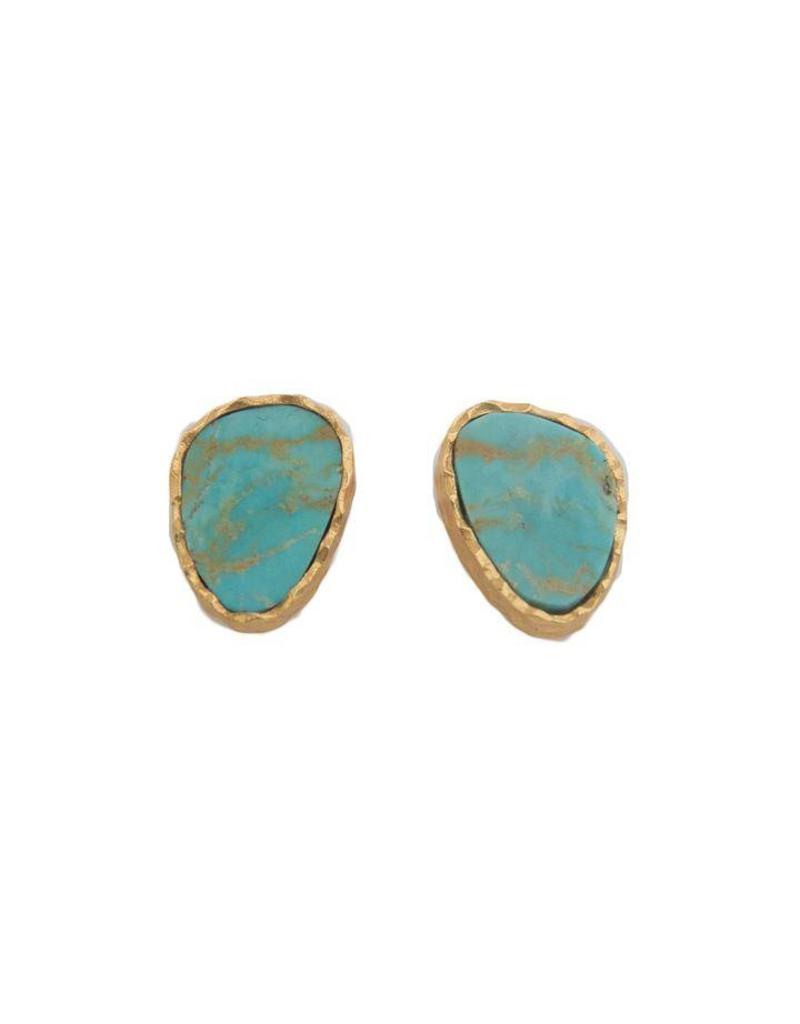 Christina Greene Turquoise Stud Earrings