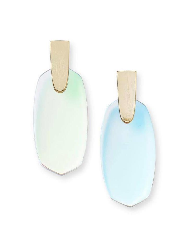 Kendra Scott Dichroic Glass Aragon on Gold