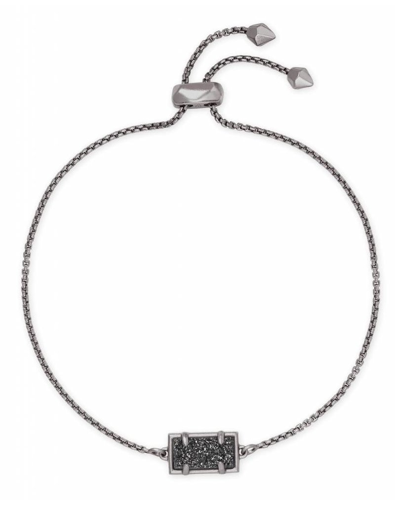 Kendra Scott Phillipa Bracelet Black Drusy