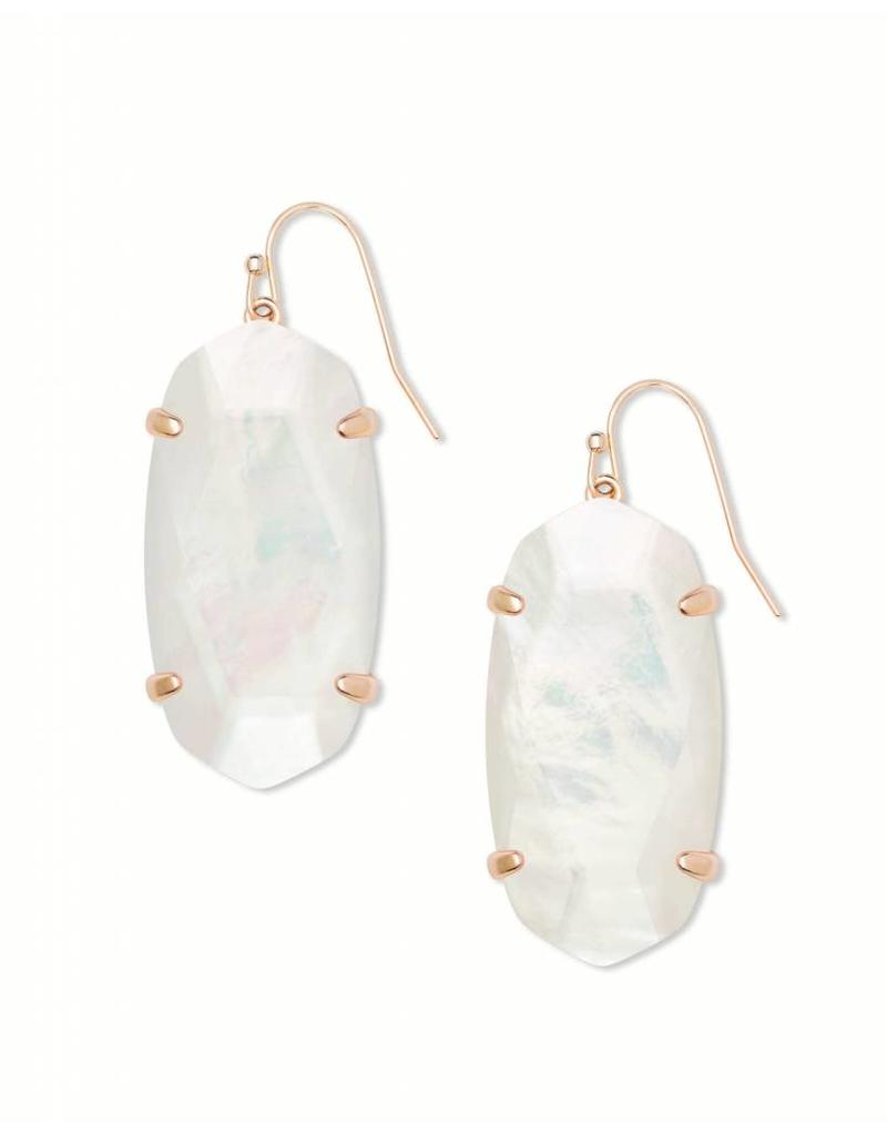 Kendra Scott Esme Ivory Mother of Pearl on Rose Gold