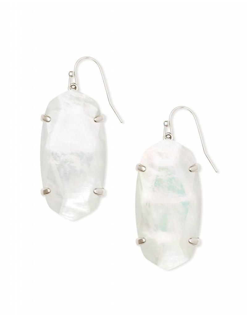 Kendra Scott Esme Ivory Mother of Pearl on Silver