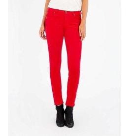 Kut Diana Skinny Red Corduroy