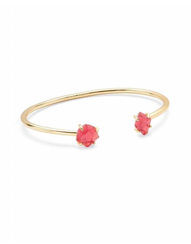 Kendra Scott Merida Bracelet in Berry Illusion on Gold