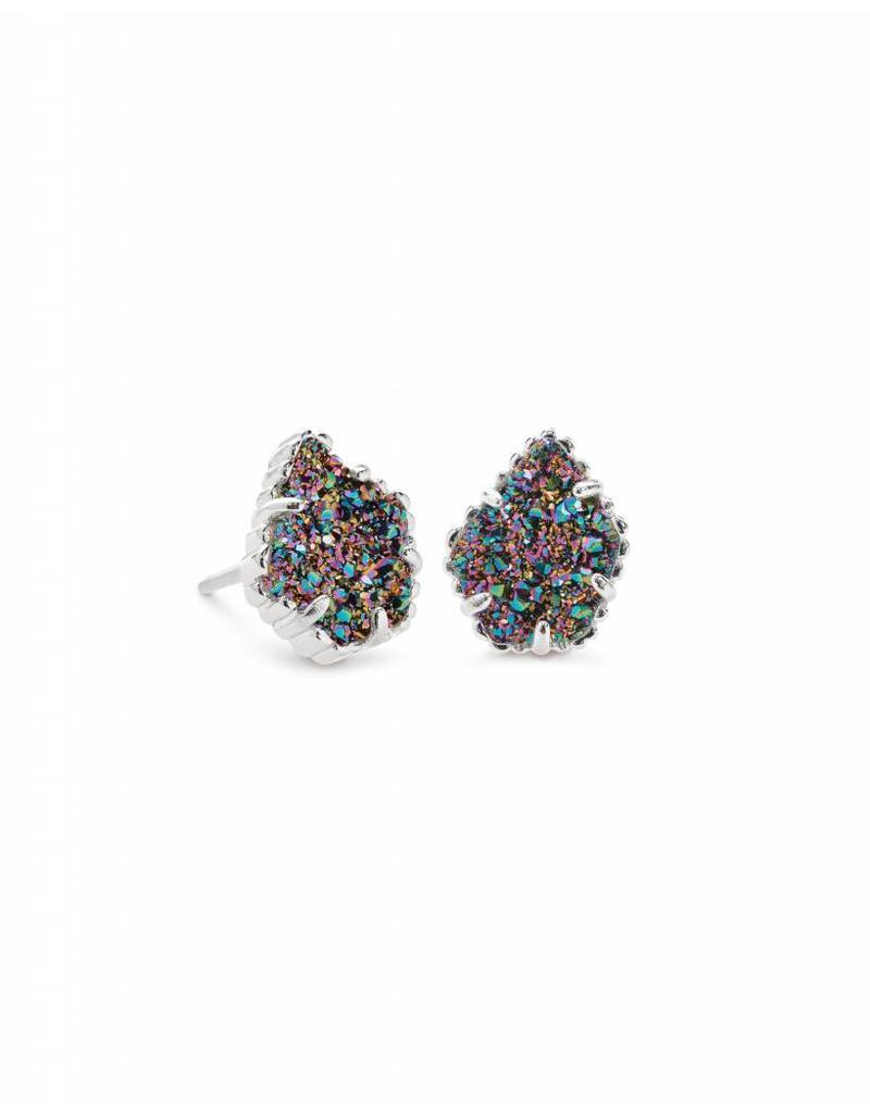Kendra Scott Tessa Earrings in Multi Drusy on Silver