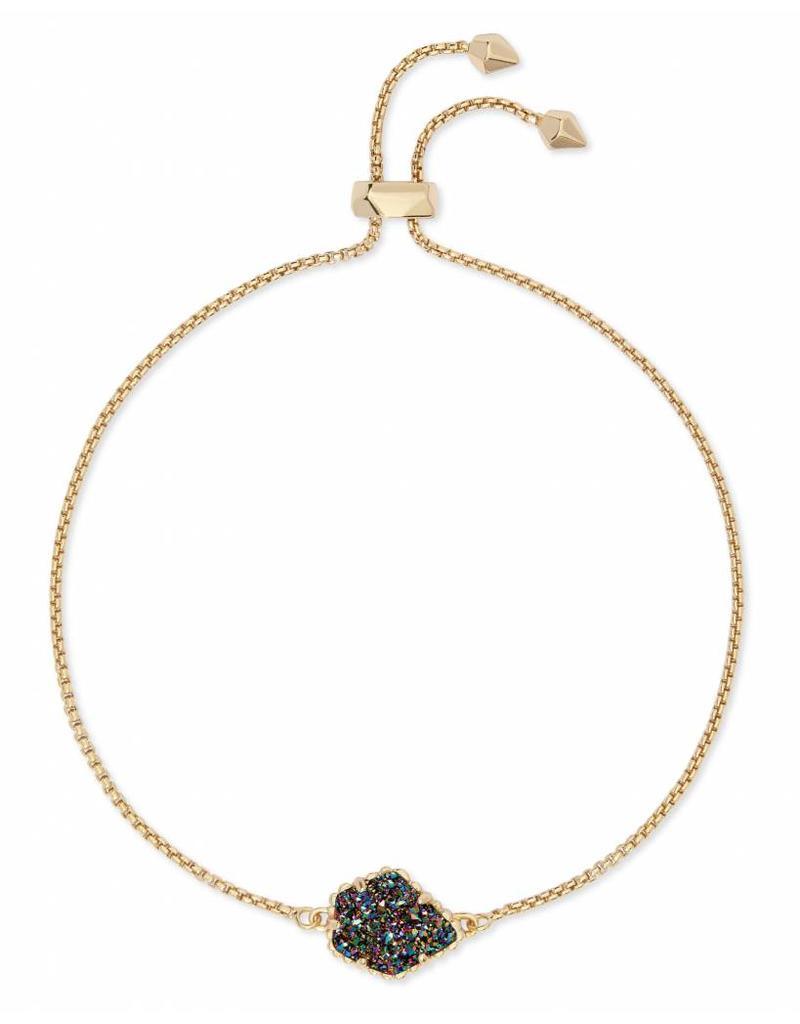 Kendra Scott Theo Bracelet in Multi Drusy on Gold