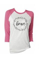 Brave Vintage T-Shirt 3/4 Sleeve