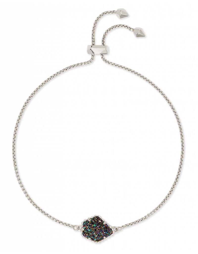 Kendra Scott Theo Bracelet in Multi Drusy on Silver