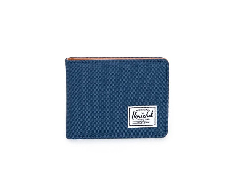 HERSCHEL Hank Wallet poly navy/tan