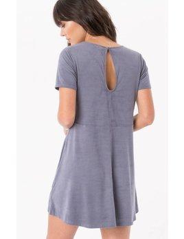Z-SUPPLY suede shift dress