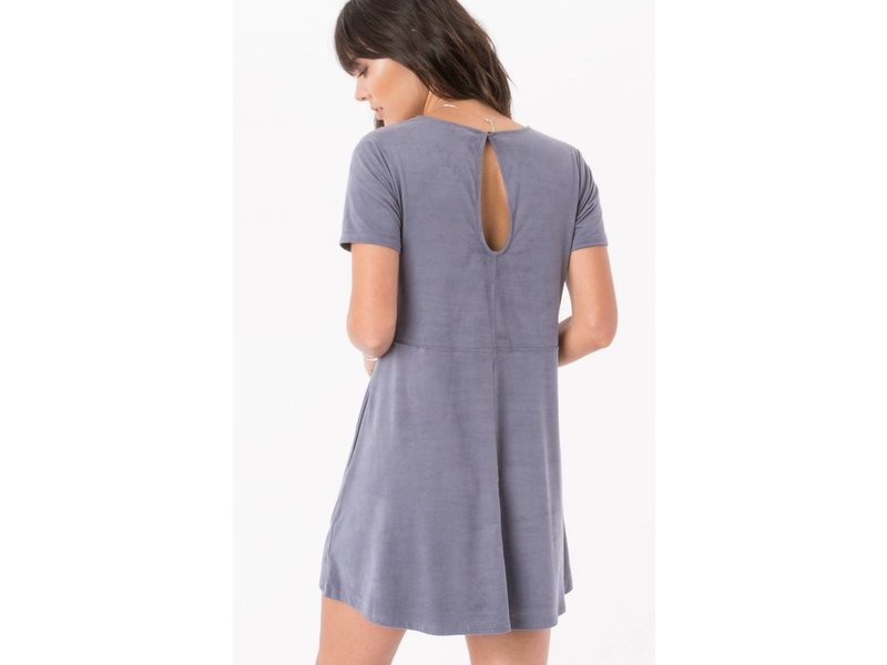 Z-SUPPLY suede shift dress