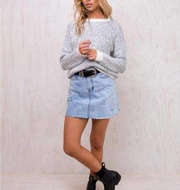 Mink Pink MINK PINK comforter raglan sweater