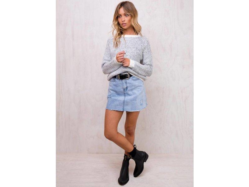 MINK PINK comforter raglan sweater