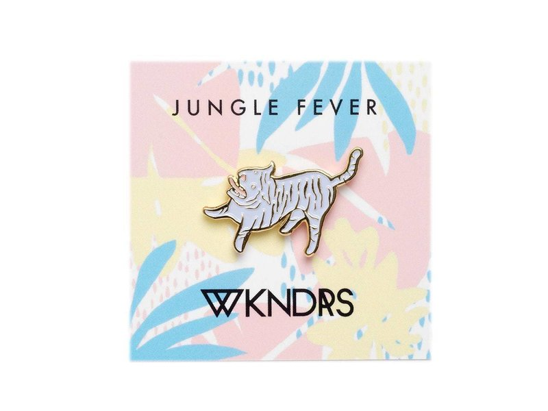 Wkndrs Jungle Fever pin
