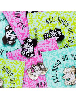 wkndrs Wkndrs All Dogs Go To Heaven pin