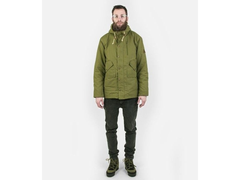BURTON Sherman jacket olive branch