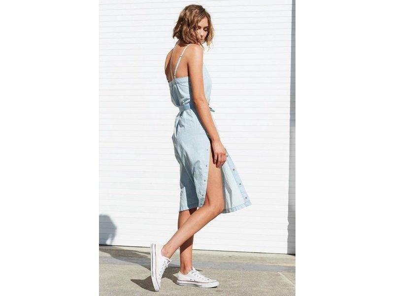 MINK PINK Street snap side slip dress