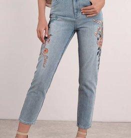 Mink Pink MINK PINK Wild flower scando jeans