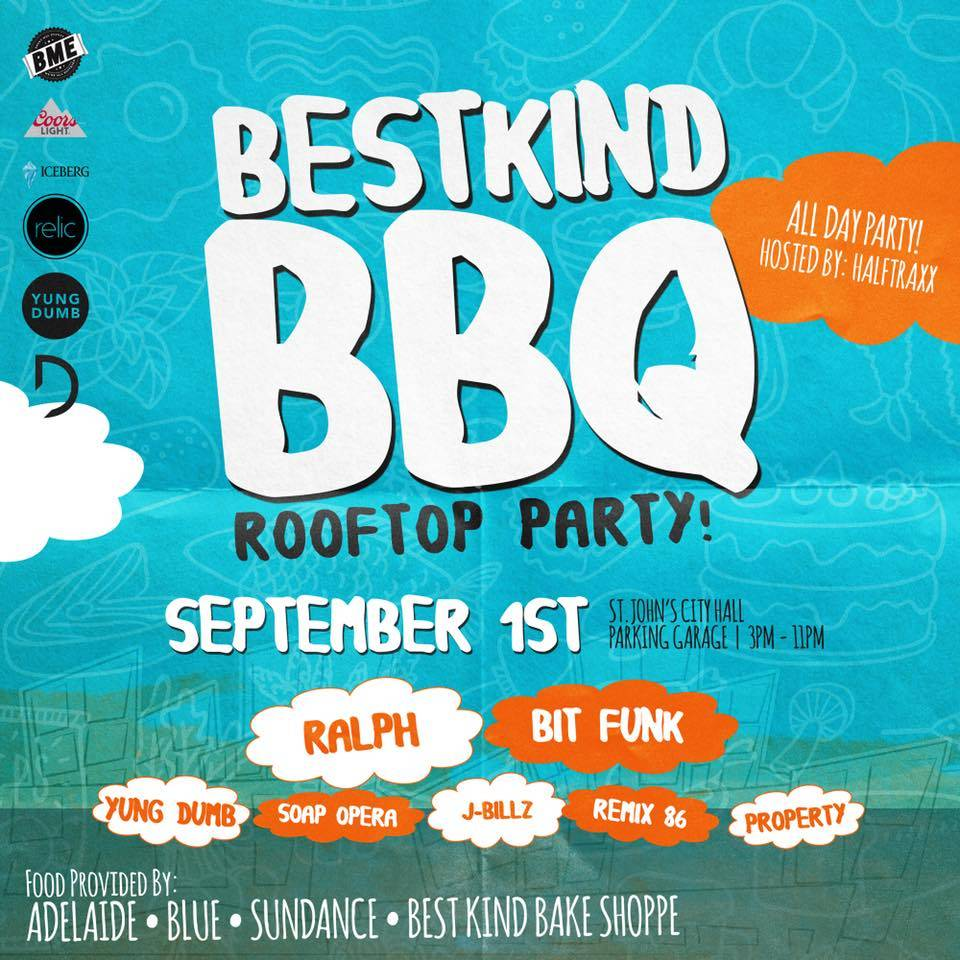 BEST KIND BBQ Rooftop Party