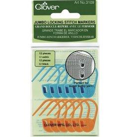 Clover Clover Locking Stitch Marker: Jumbo
