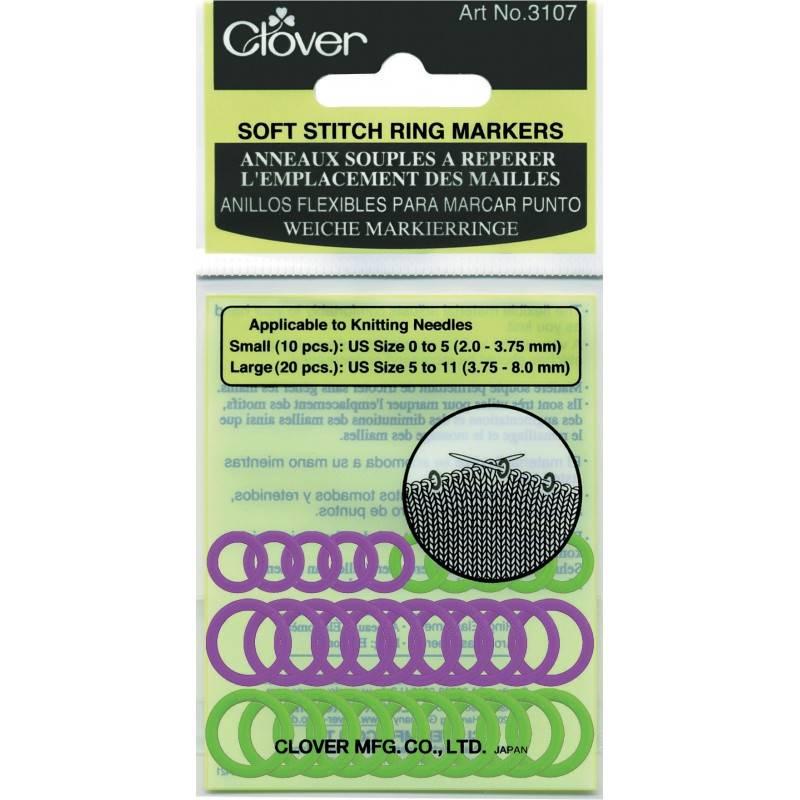 Clover Clover Stitch Marker: Soft