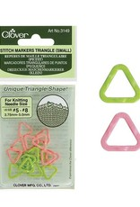 Clover Clover Stitch Marker: Small Triangle