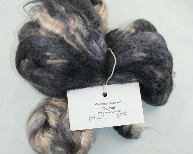 West Coast Colour Camel & Silk Fibre