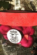 Baaad Anna's Logo Zippered Project Bag