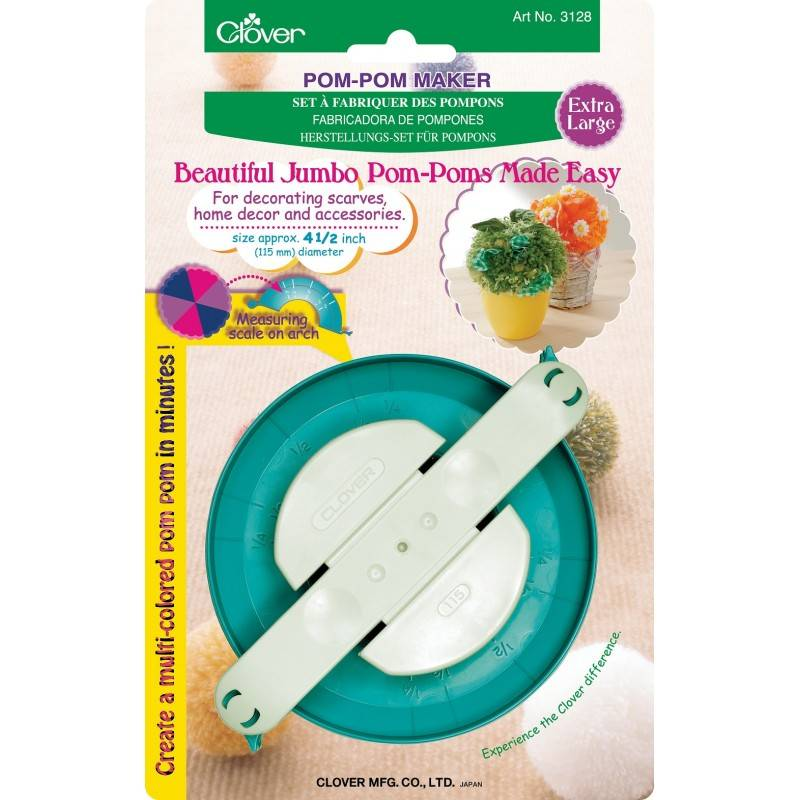 Clover Clover Pom Pom Maker: Extra Large