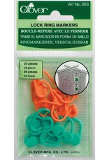 Clover Clover Stitch Marker: Locking