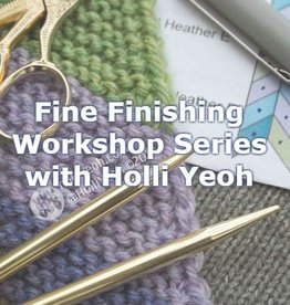 Baaad Anna's Yarn Store Holli Yeoh Knitting Class Workshops