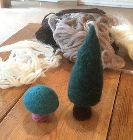 Baaad Anna's Yarn Store Beginner Felting Class