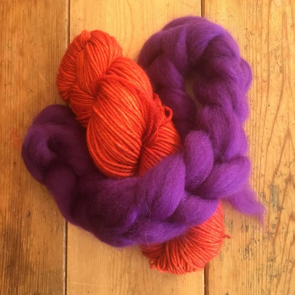 Baaad Anna's Yarn Store Thrummed Mitten Knitting Class