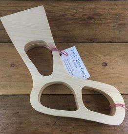 Wooden Sock Blockers