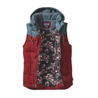 Women's Bivy Down Hooded Vest