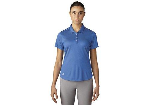 Adidas W's Microdot Short Sleeve Polo