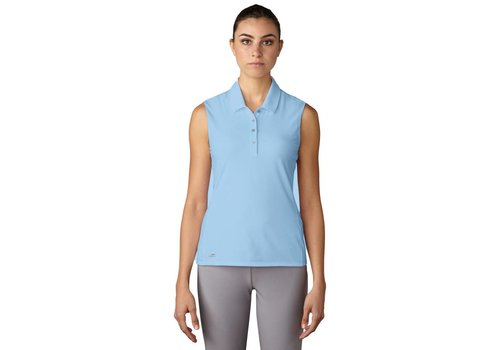 Adidas Essentials Cotton Hand Sleeveless Polo