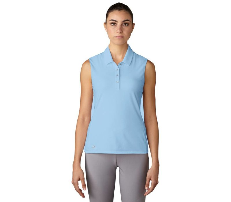 Women's Essentials Cotton Hand Sleeveless Polo