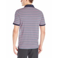 Men's Tailored Pocket Stripe Polo