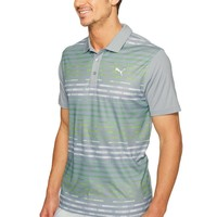 Men's Road Map Golf Polo