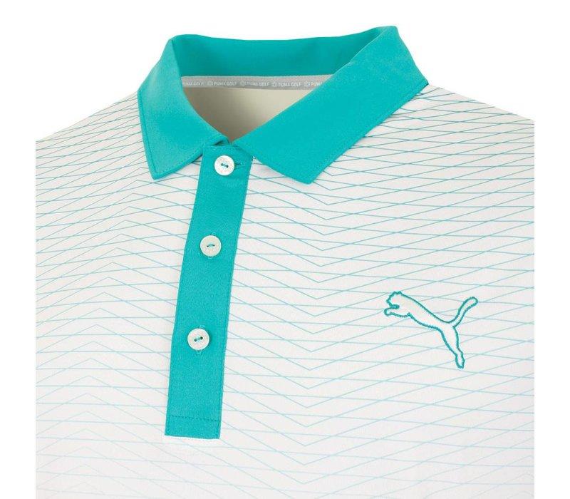 #GoTime Men's Colorblock Fade Golf Polo