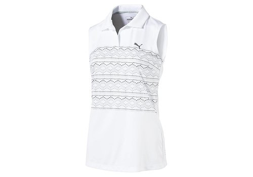 Puma Sleeveless 18 Hole Polo