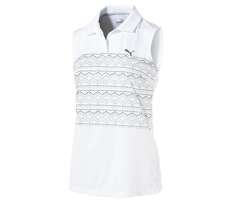 Women's Sleeveless 18 Hole Golf Polo