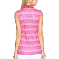 Women's Road Map Sleeveless Golf Polo