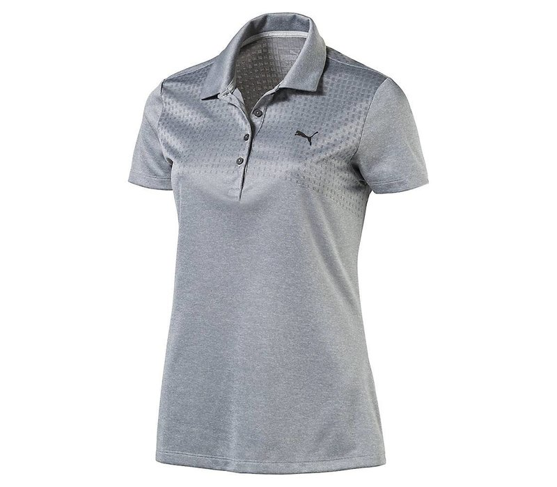 Women's Jacquard Golf Polo