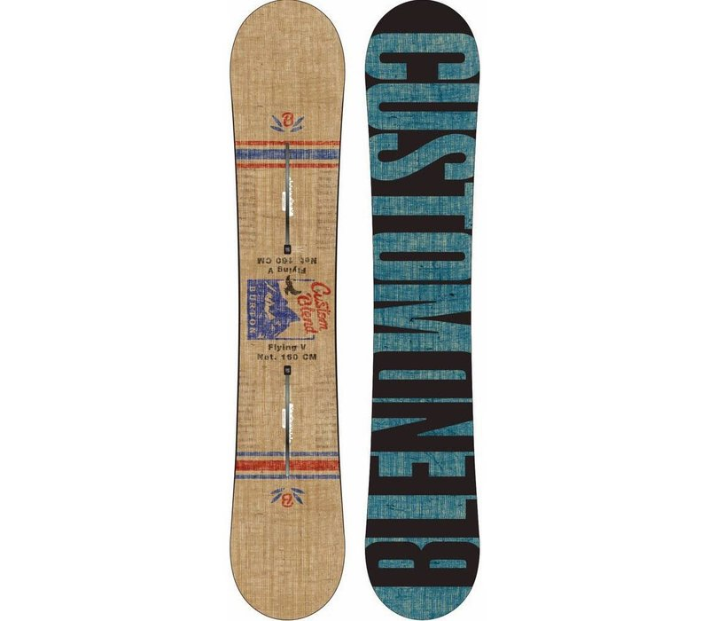 Custom Twin Flying V Snowboard 2015-2016