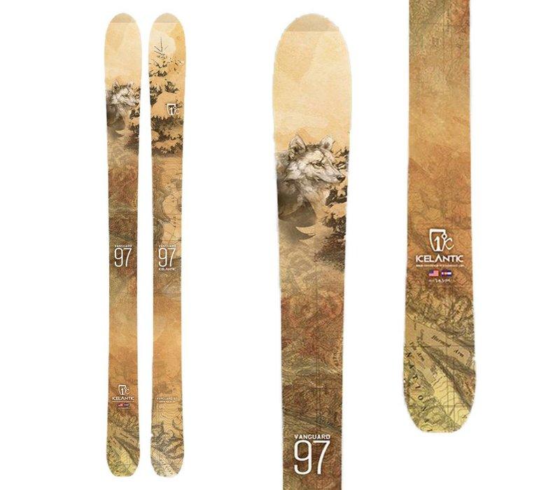 Vanguard 97 Skis 2017
