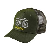 Snow Cycle Trucker Hat