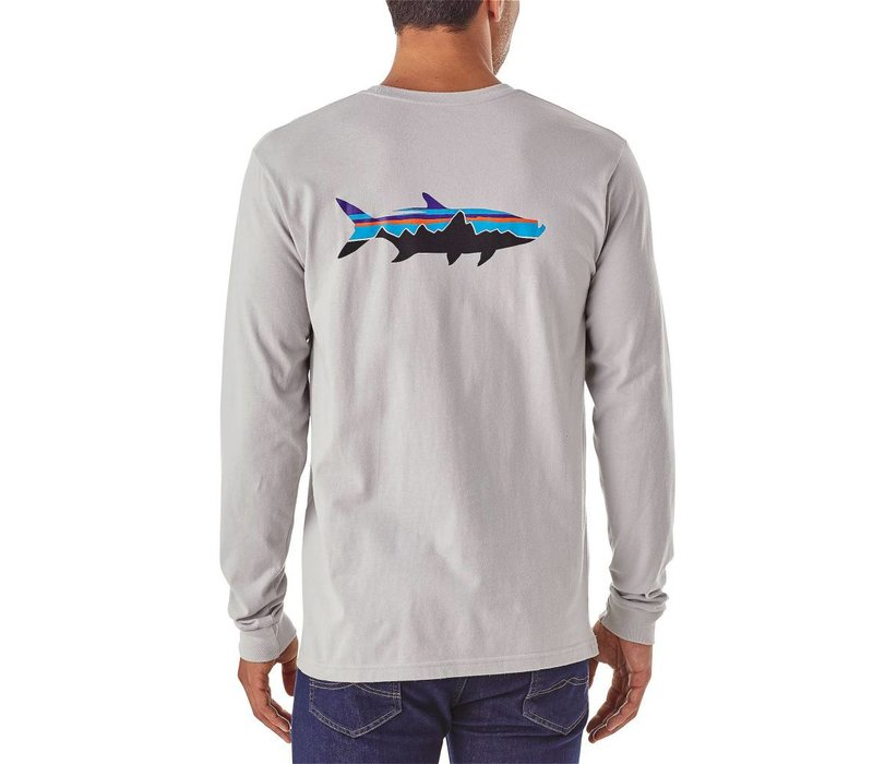 Men's Long-Sleeved Fitz Roy Tarpon Organic Cotton T-Shirt